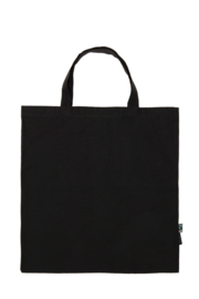 Shoppingbag met korte hengsels (O90004)
