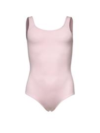 Roze balletpak met brede band kinderen (12pk4211)