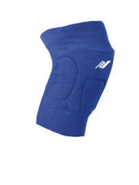 Blauwe kniebeschermers met 3 schokabsorberende delen (27101-301)
