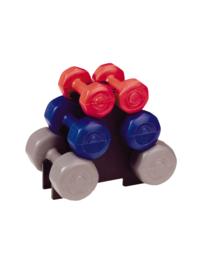 Set van 6 dumbbells (1, 2 en 3 kg) (27256-517)