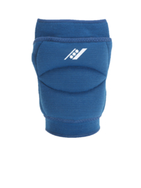 Blauwe kniebescherming met brede sponsvulling (27102-301)