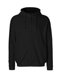 Unisex hoodie met rits (O63401)