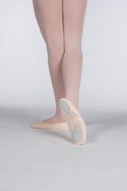 Balletschoenen canvas splitzool voor Volwassenen (PA1012)