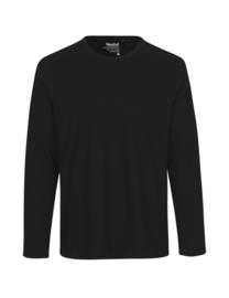 Mannen T-shirt met lange mouwen (O61050)