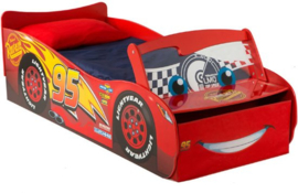 Disney Cars Lightning McQueen autobed met Led
