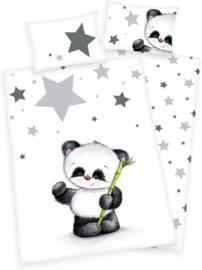 Baby Best Dekbedovertrek Panda - 100x135 cm