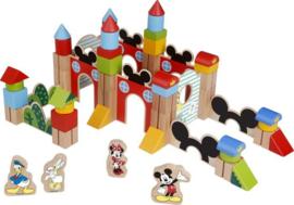 Disney Mickey Mouse houten blokken - 60 stuks