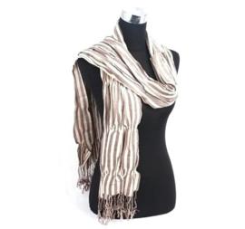 Dames sjaal - Bruin/Beige