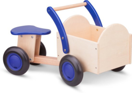 New Classic Toys Bakfiets Road Star - Blank/Blauw