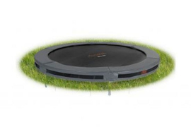Avyna PRO-LINE InGround trampoline 14 HD Plus, Ø 430 cm - Grijs
