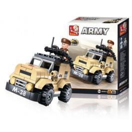 Bouwstenen Army Serie Patrouillewagen