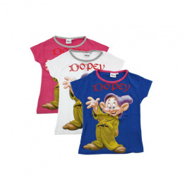 Disney Dopey t-shirt - wit maat 116