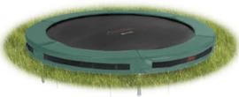 Avyna PRO-LINE InGround trampoline, Ø 430 cm - groen grijs camouflage