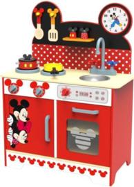 Houten Keukentje Mickey Mouse - 60x30x83 cm