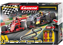 Carrera GO!!! Racebaan - Race to Win - 430 cm
