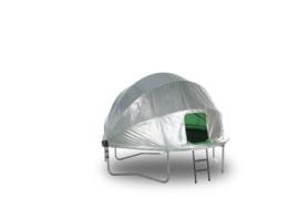 Tent grijs, voor ronde trampoline type 14 - 430 cm