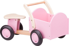 New Classic Toys Bakfiets Road Star - Blank/roze