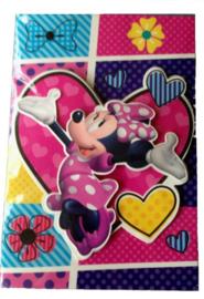 Disney Minnie en Katrien 3D verjaardagskaart met envelop