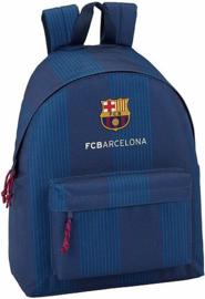 Rugzak FC Barcelona blauw stripes - 41x31x16 cm