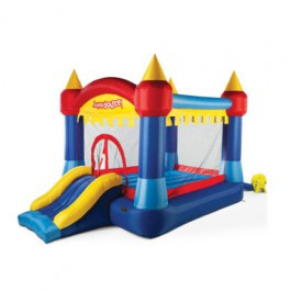 Luchtkussen Happy Bounce Castle Adventure 2-1