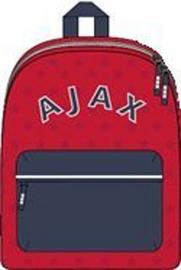Rugzak Ajax klein rood - 28x21x11 cm