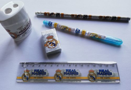 Real Madrid schrijfset - 5 delig