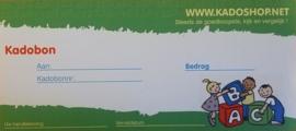 Kadobon vanaf 10 euro