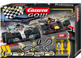 Carrera GO!!! Racebaan - Max Speed - 630 cm