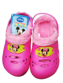 Disney Minnie Mouse kinderpantoffel - klompje maat 30
