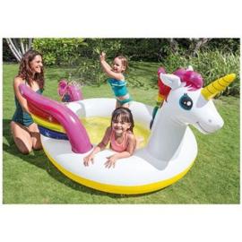 Intex Rainbow Unicorn zwembad - 272x193x104 cm
