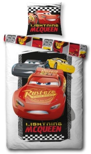 Disney Cars dekbedovertrek - 100x140 cm