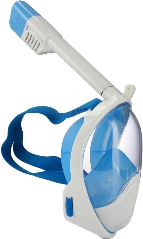 SportX Snorkelmasker volgelaat maat SM - blauw