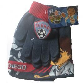 Diego muts en handschoenenset
