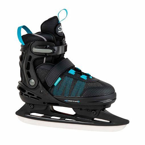 Allround Comfort IJsschaatsen Zwart - Hudora