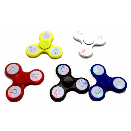Spinners met LED verlichting