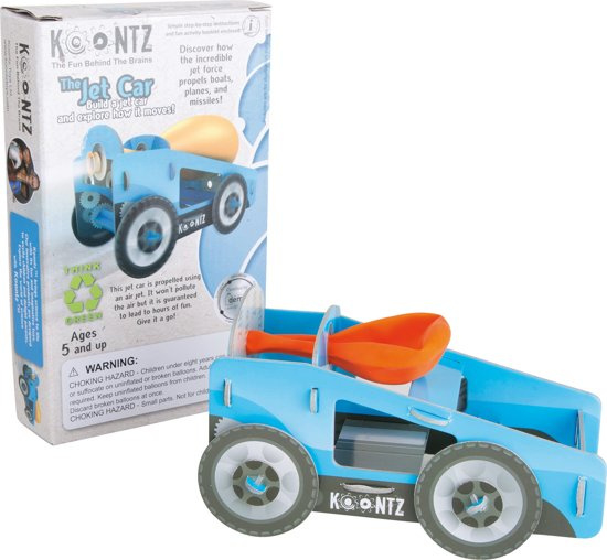 Small foot Construction Kit Car with Balloon