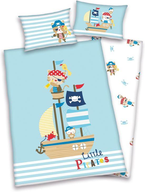 Baby Best Dekbedovertrek Little Pirates  - 100x135cm