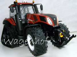 New Holland T8.435 Terracotta op SmartTrax MM1806 schaal 1:32.