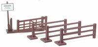 Farm gate and fence Britains Scale 1:32