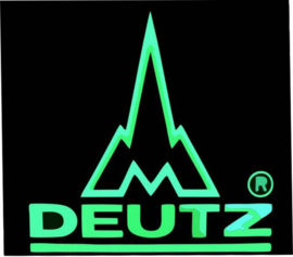 Deutz LED neon light sign. LG180