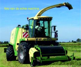 KRONE BIG X 1180 met Maisbek en gras pickup ROS 601666.