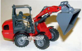 Weidemann 1770 CX50 with cabin and bucket. Si3059c. Siku Scale 1:32