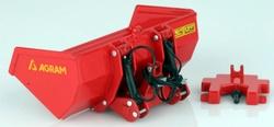 AGRAM 3 punts hydraulische Schepbak  Replicagri  Schaal 1:32