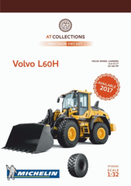 Volvo L60H wheel loader . AT Collections. AT3200120 Schaal 1:32