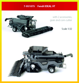 Fendt IDEAL 9T maaidorser ROS 7-951075 1:32