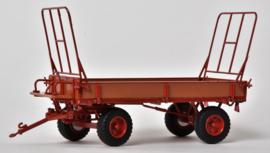 Miedema Landbouwwagen in gelakt hout met Rood MMPLM7602