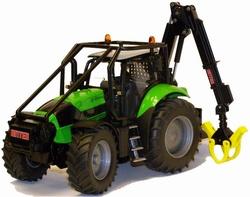 DEUTZ FAHR Agrotron X720 bosbouw tractor  Siku Schaal 1:32