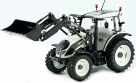 Valtra A104 with front loader in White. ROS301542. Scale 1:32