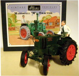 Marshall type M tractor WB00172. From the old box. Scale 1:32