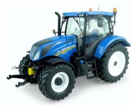 NH T6.165 tractor  UH5263 Met fronthef. Schaal 1:32